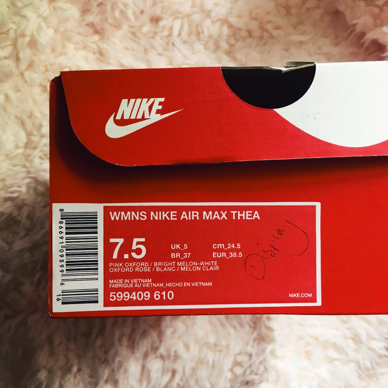 brand new nike air max thea flyknit trainers in Depop
