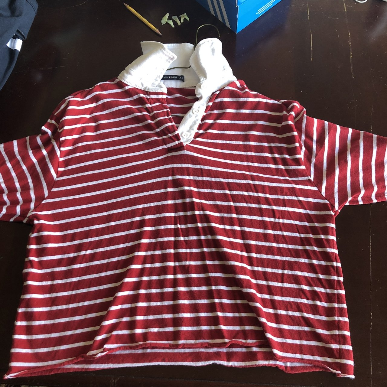 7ce9f0b6169 I have no idea what this shirt is called but I bought it was - Depop