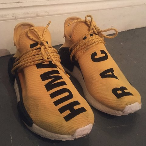 8d3fc62f8a64e Pharrell Williams x Adidas Human Race NMD 8 10 condition 3 - Depop
