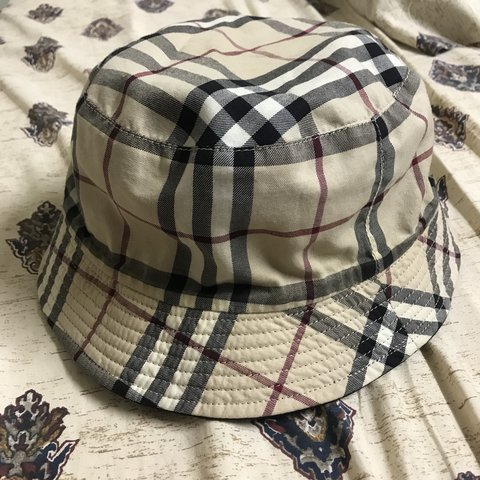 cede712bcd794 Authentic vintage Burberry bucket hat. Very very very rare. - Depop