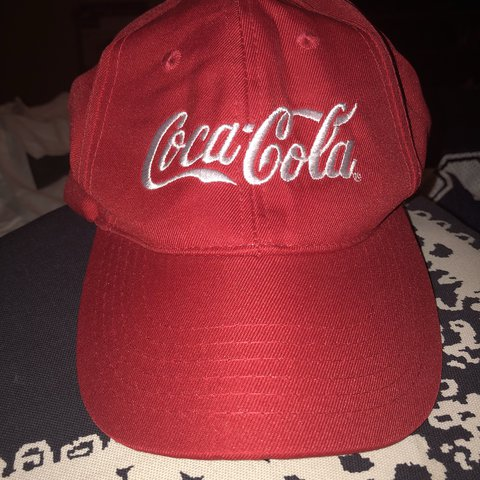 f09726b1517 Coca Cola dad hat in good condition with no flaws All sales - Depop