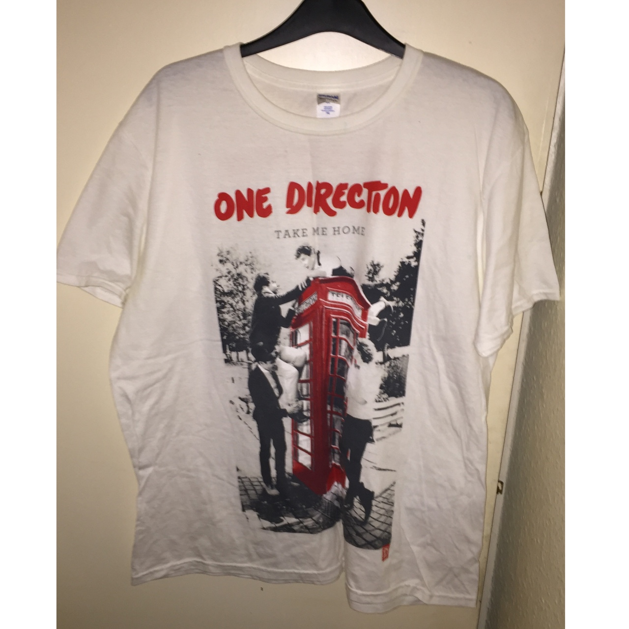One Direction Take Me Home Tour 2013 T Shirt Depop
