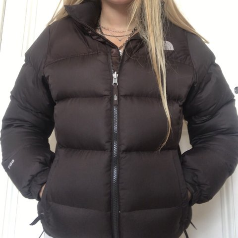e88b6ec768 North Face 700 brown puffa   puffer jacket. Used but still - Depop