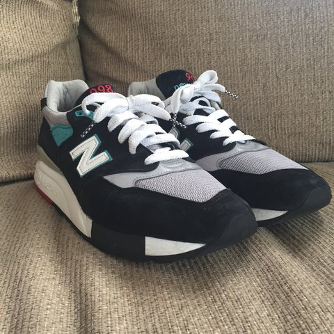 f9d7cdc91a7fa New Balance 998 Size 10.5 9/10 condition, worn gently No VIA - Depop