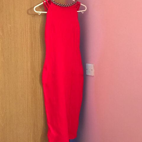 a90c2f151640 @slappin. 2 years ago. Newtownards, United Kingdom. Orangey/red dress only  worn once! Size 6/8. Perfect condition