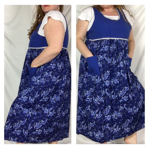 Blue Angel Holiday Dress This Plus Size Dress Is Very A Depop