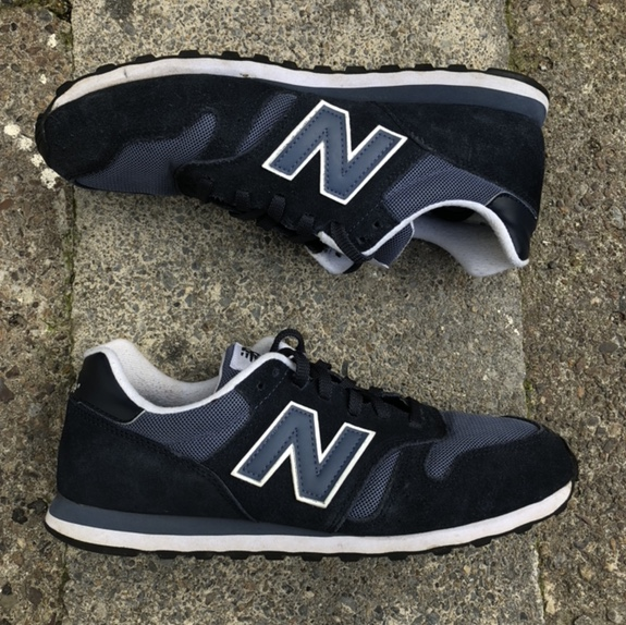 New Balance 374 Navy Blue Trainers. Good Condition....