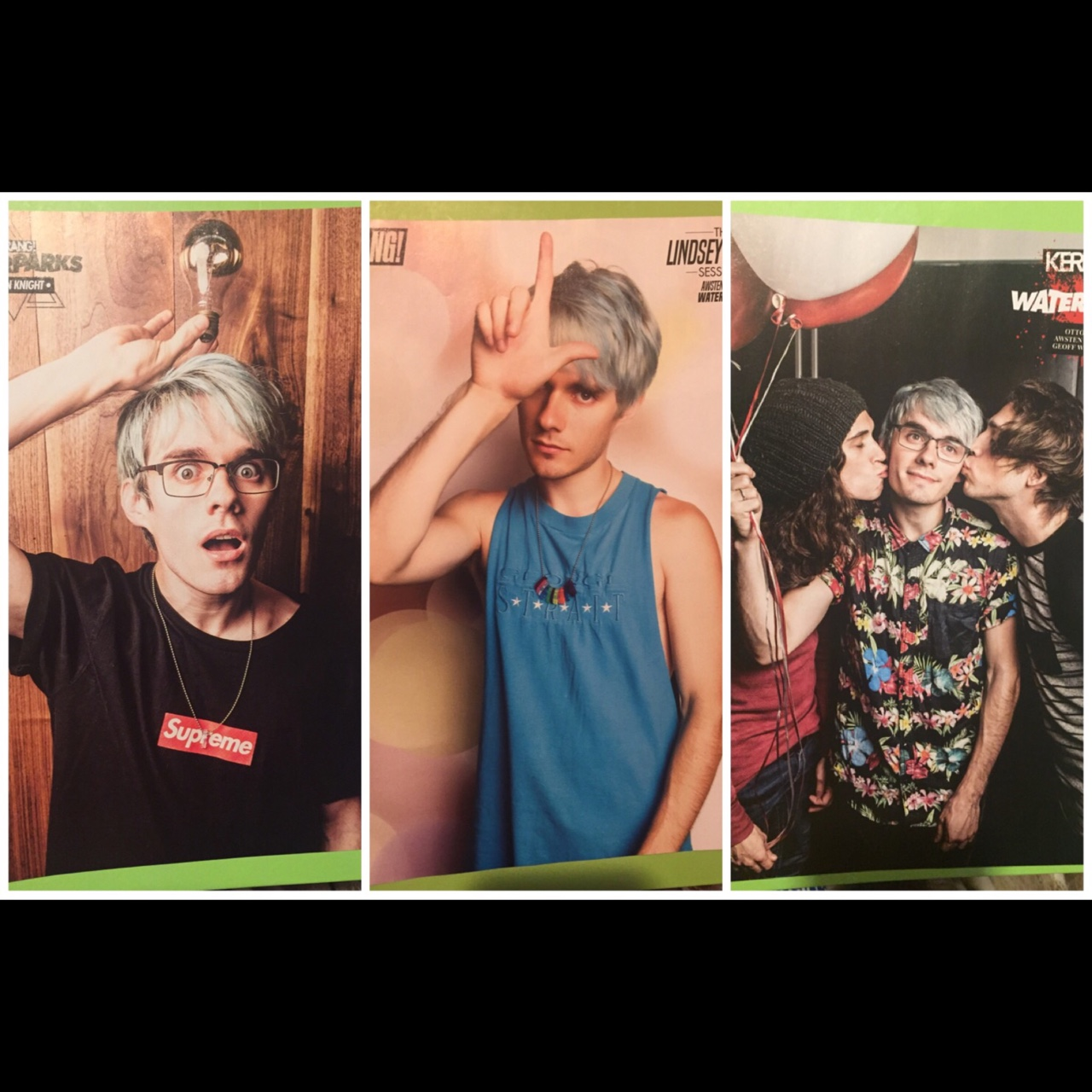 Custom listing - Waterparks posters  2nd Class    - Depop