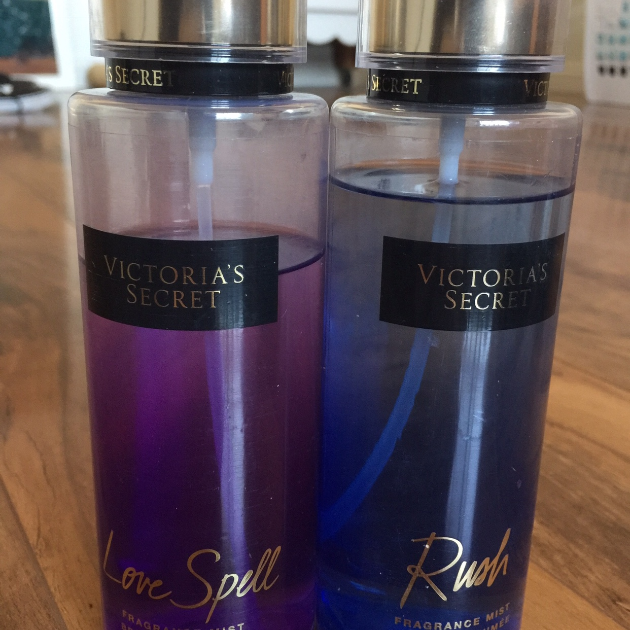 f99229505b25c Victoria Secret Love Spell and Rush Perfume and... - Depop