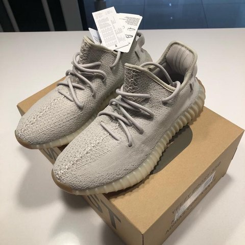 db3a1c6d0 Adidas Yeezy Boost 350 V2 Sesame UK 9 Open to only - any - Depop