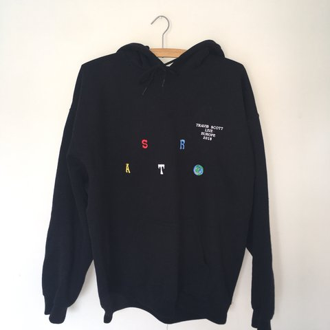 02a7300bb449 Limited Edition Travis Scott ASTROWORLD hoodie official from - Depop