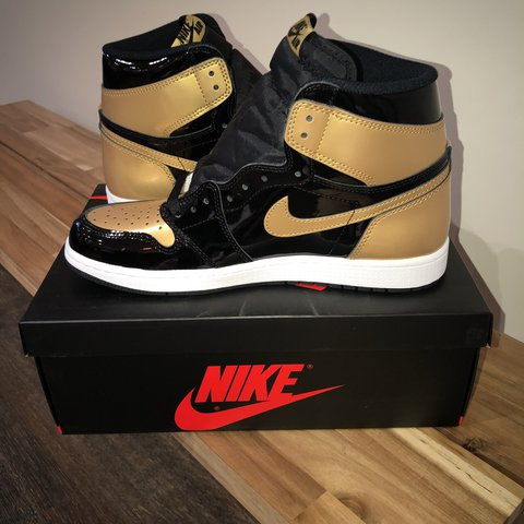 e382be2d6fc435 jordan 1 gold toe deadstock sold out online you can collect - Depop