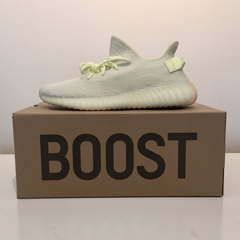 3d1a925832834 100% AUTHENTIC YEEZY 350 V2 BUTTER • ORDERED FROM FOOTLOCKER - Depop