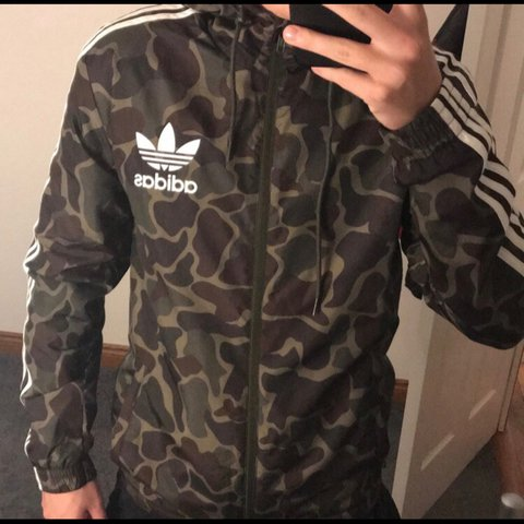 8f2c0e290e8a0 @aliciamcgibbon01. 2 years ago. Doncaster, United Kingdom. Selling this  men's adidas camo waterproof jacket ...