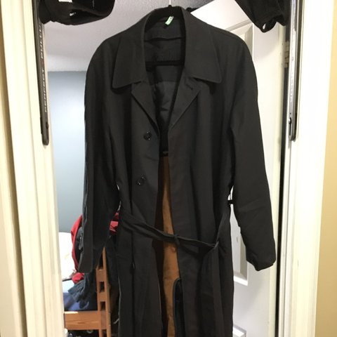 6e3e502f4c0 Yves Saint Laurent Mens Trench Coat 2 layer - Trench Fits - Depop