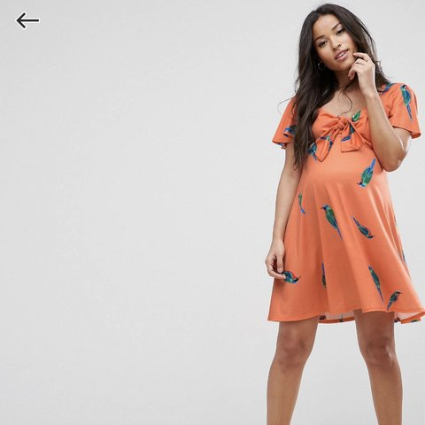 803a9c49f7f ASOS maternity dress new without tags