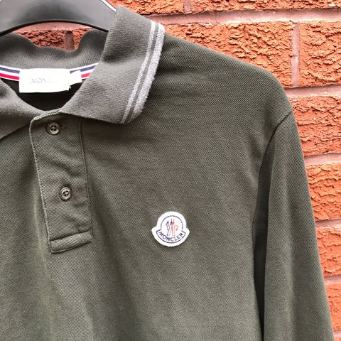 902e881d @hs590. 2 years ago. Coventry, United Kingdom. Mens Moncler long sleeved  polo - dark green - size M ...