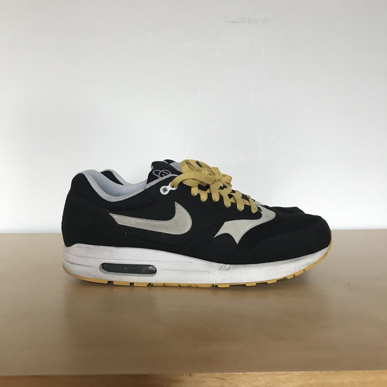 sale retailer 99fbb faaea  callumjh92. last year. Bedlington, United Kingdom. Nike Air Max 1. Black    White   Solar Flare ...