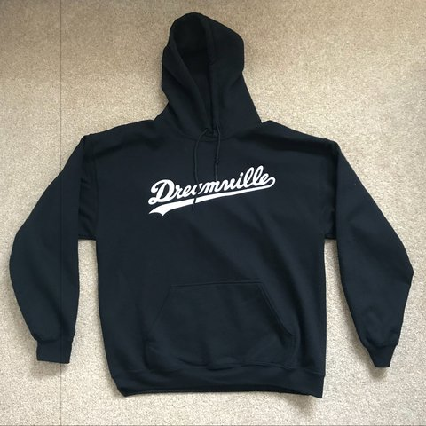 J Cole Dreamville Tour Merch Black Hoodie Size L I Am A 2 Depop