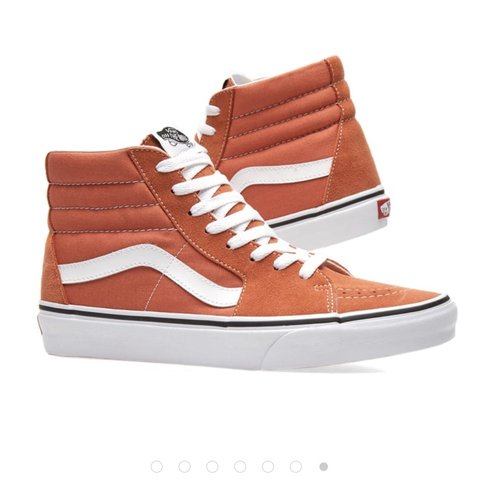 ad918db7b83 Vans sk8-hi in autumn glaze and true white
