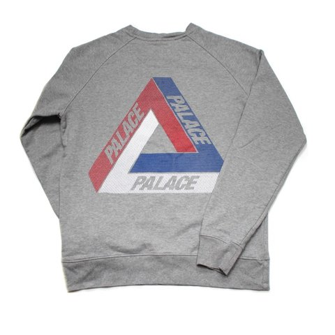 3bcc0b818be3 Grey Palace Tri Line Brit Sweatshirt. Size Large. All are - Depop