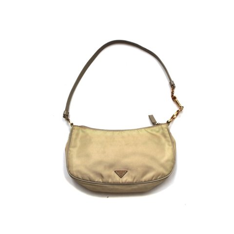 afd9741a354b Vintage Light Cream Prada small bag, great condition small - Depop