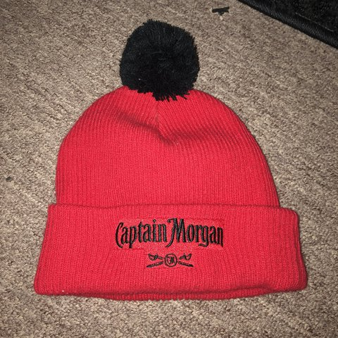 7d8eebcd9c5 Captain Morgan beanie In perfect condition - Depop