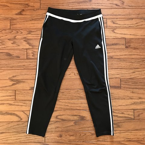orange adidas soccer pants