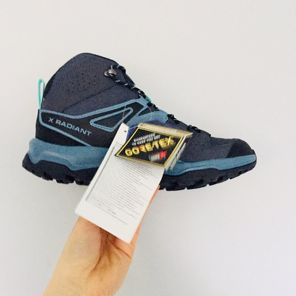 SALOMON Contagrip Ortholite Hiking Walking Boots Depop