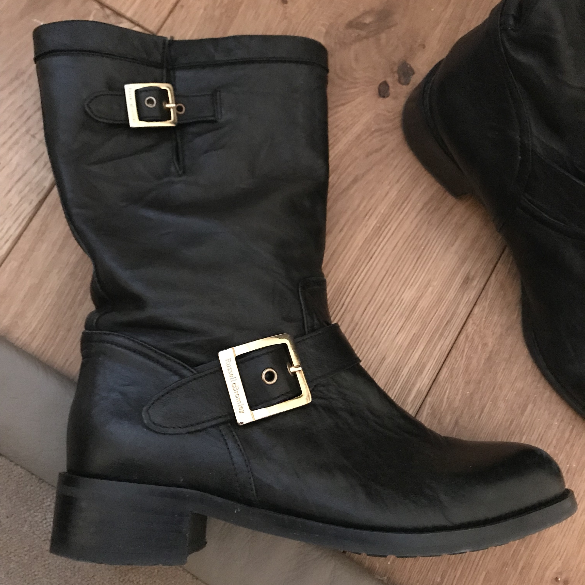 🖤🖤 RUSSELL AND BROMLEY BIKER BOOTS