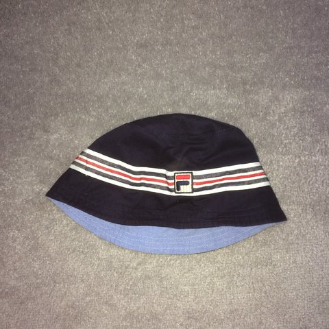c81dd68290b navy blue fila bucket hat bought for £20 no flaws