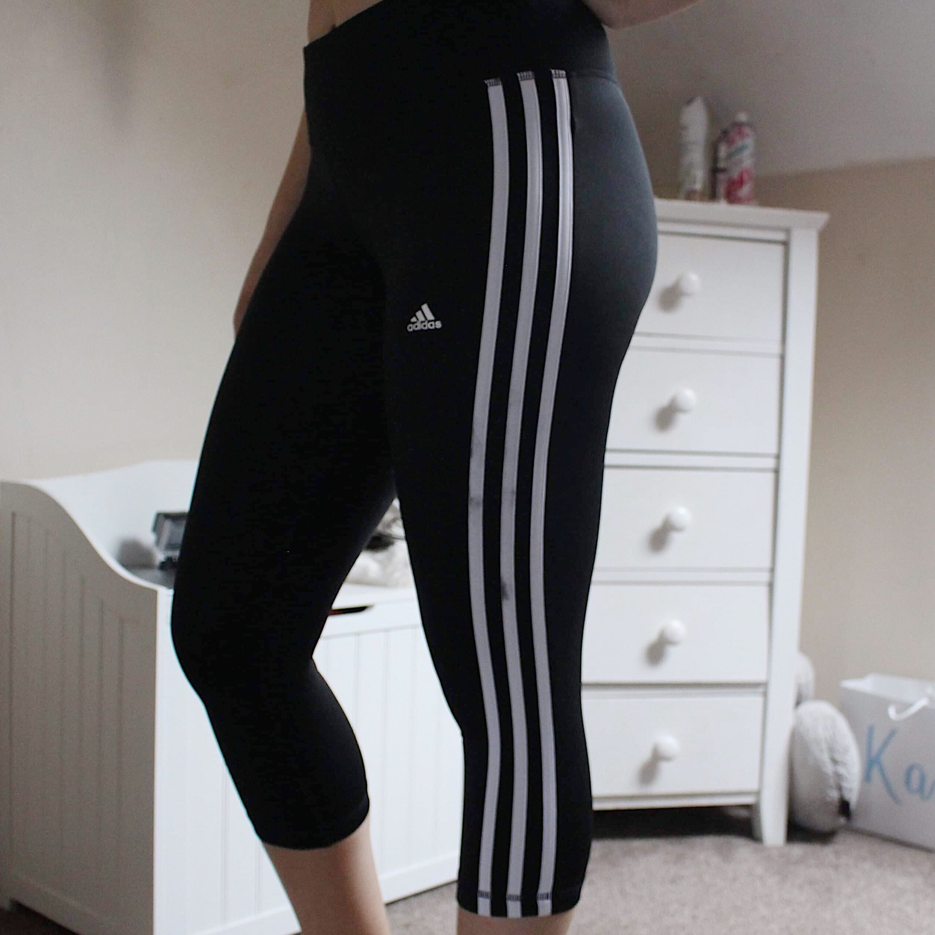 3/4 length adidas leggings