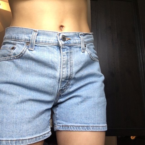 fb189a44 @sarahleptuck. last year. Downingtown, United States. Vintage low rise  Levi's shorts!