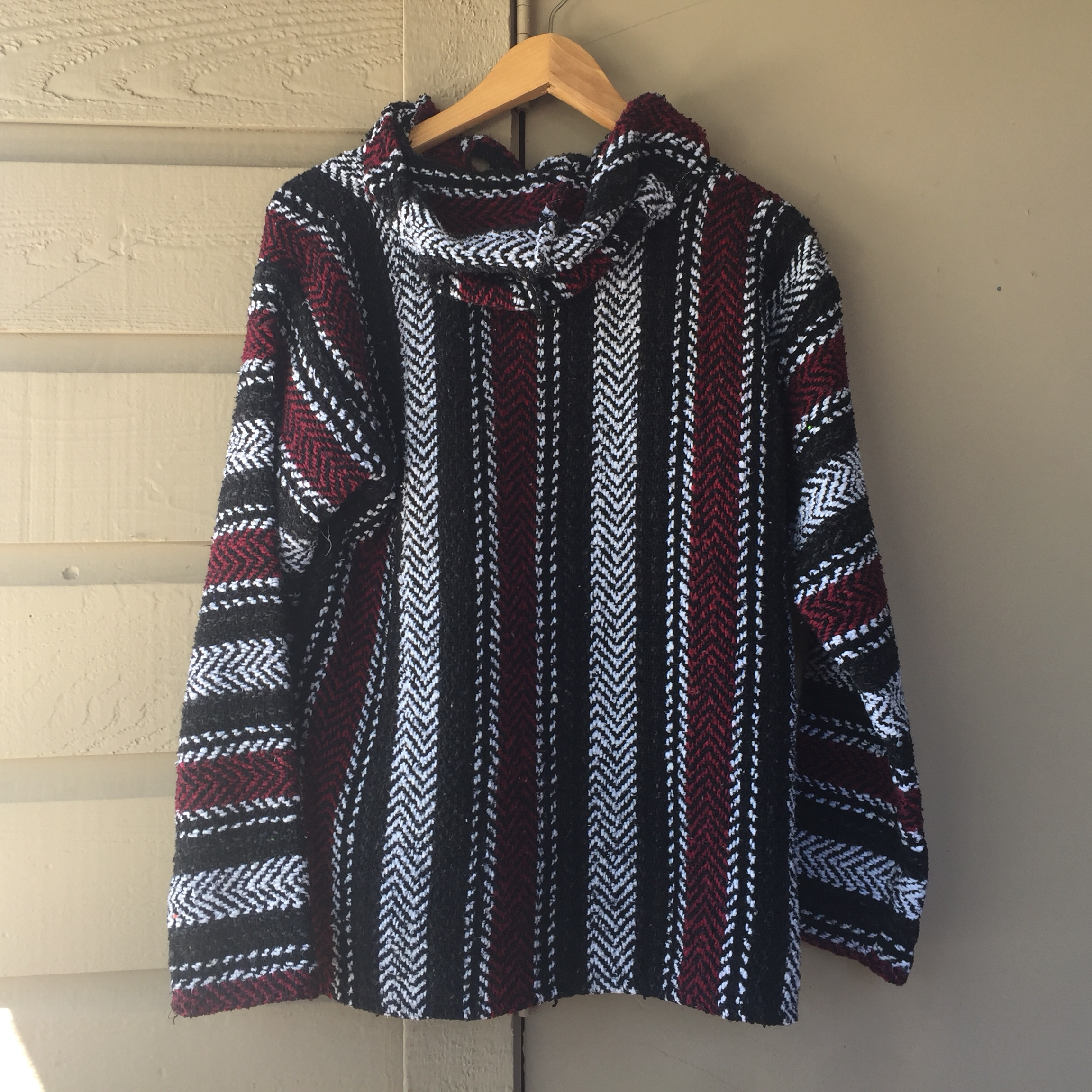 Baja Hoodie/Poncho! Brand new, only worn once  Great