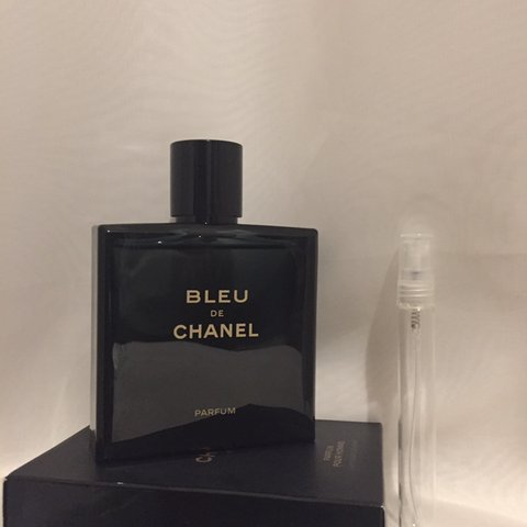 Chanel Bleu De Chanel Parfum 10ml Decant Sample In A Glass Depop