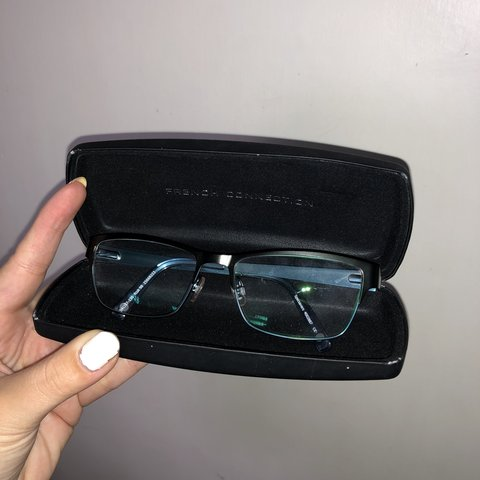 c65a9beab1 French Connection Glasses No prescription (nothing be worn - Depop