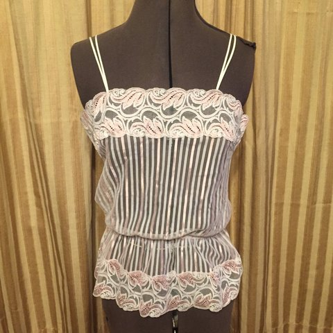 e3f33783398 Vintage 60s Lacy Camisole Delicate and demure