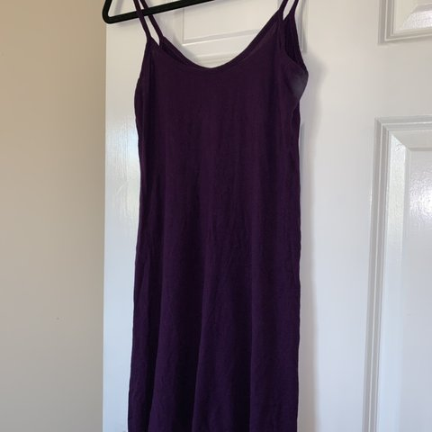 33b18fe1c2bf Purple swing dress. Only worn once as part of a fancy dress - Depop