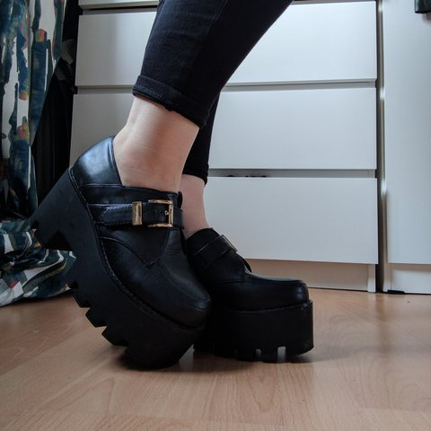 2e1d810d7375 Platform buckled shoes bought from Asos a few years ago