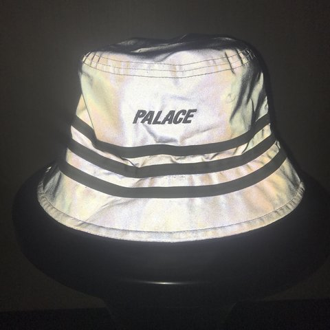 96cb54fa7429c Palace Adidas reflective bucket hat   Palace x Adidas 1 on - Depop