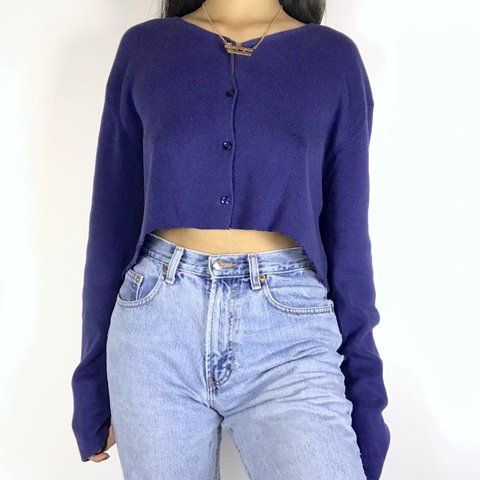 4d3da4645ed  thethreadcollection. 3 months ago. United States. Beautiful purple vintage  90 s cardigan. Has button down detailing.