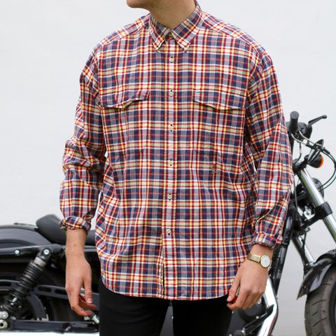 0ada9be2 @gu24. 2 years ago. Addlestone, United Kingdom. Tommy Hilfiger USA Plaid  Check Shirt
