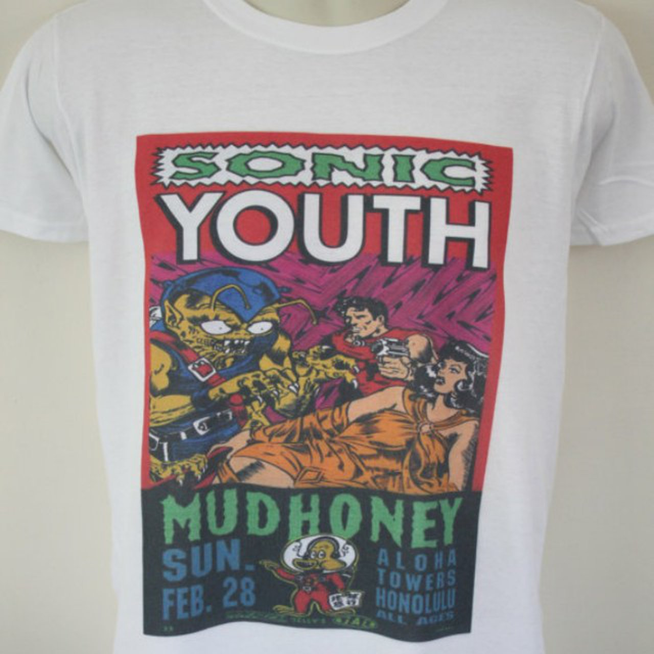 bbb57a0f Band T Shirts Sonic Youth