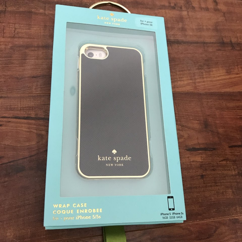 Kate spade phone case for Apple iPhone 5, 5s, SE new... - Depop