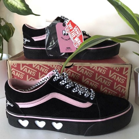 adc3e510d7ef Vans x Lazy Oaf collaboration size 7 BRAND NEW WITH TAGS AND - Depop