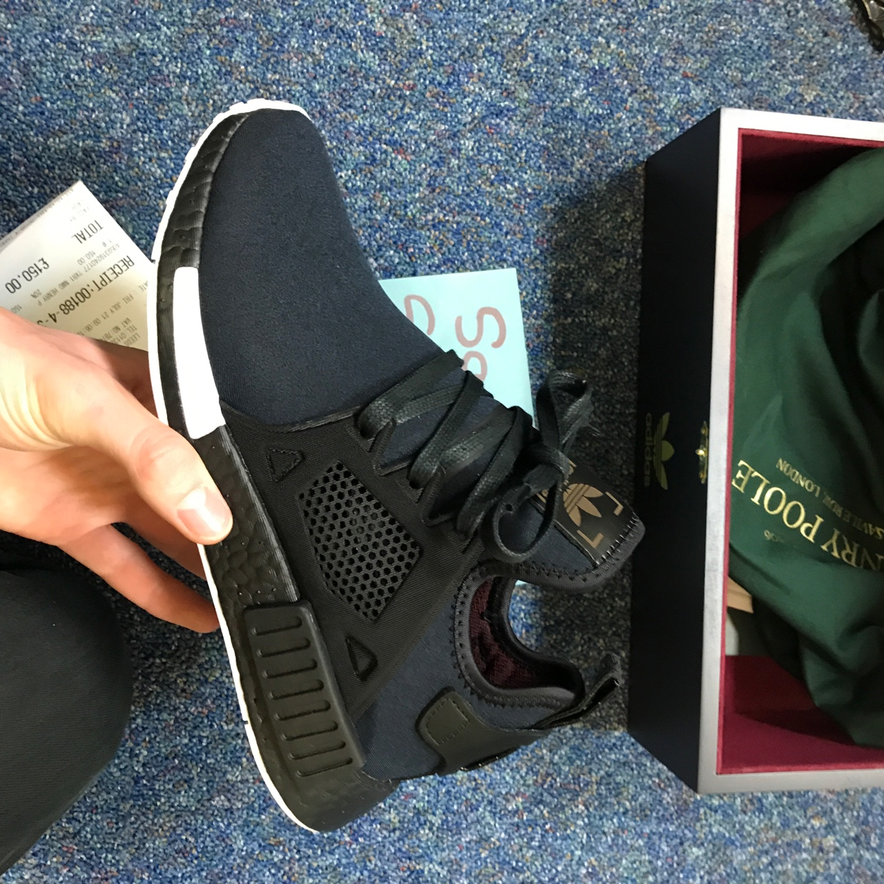 watch 865d7 e0259 🔥STEAL NEED GONE🔥🔥🔥 NMD XR1 x Henry Poole UK 7 DS... - Depop