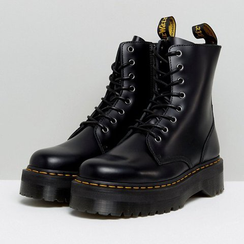 baa72413bed0e Dr Martens Jadon boots, in black, size 3 brand new in the ✨ - Depop
