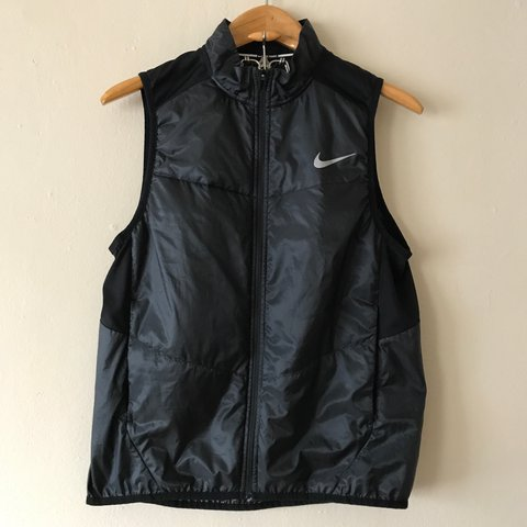 639b242f6330 Nike Running Vest. Men s (M). Perfect for the run! Wind on - Depop