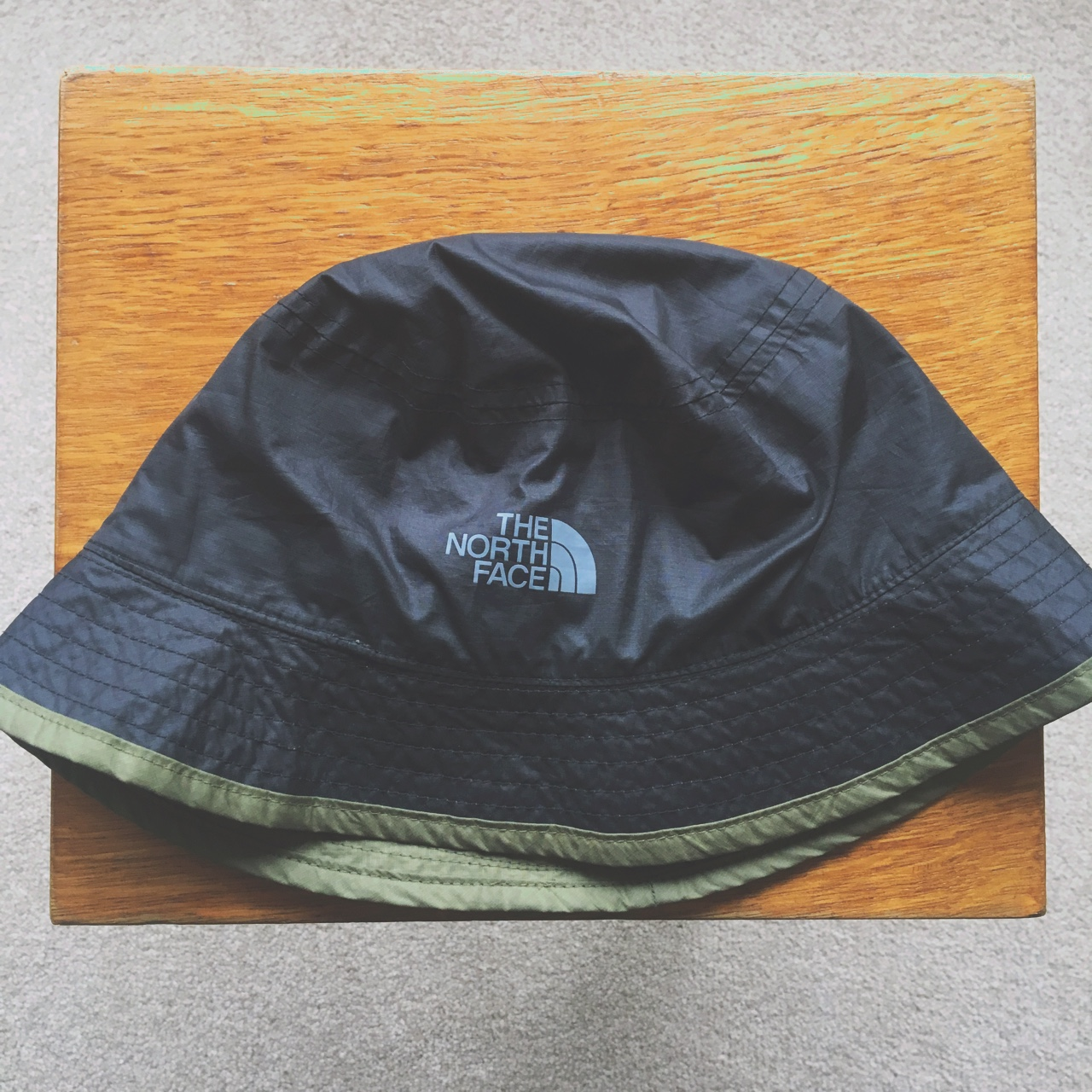767d67da3 The North Face Bucket Hat (Reversible) - Black and... - Depop