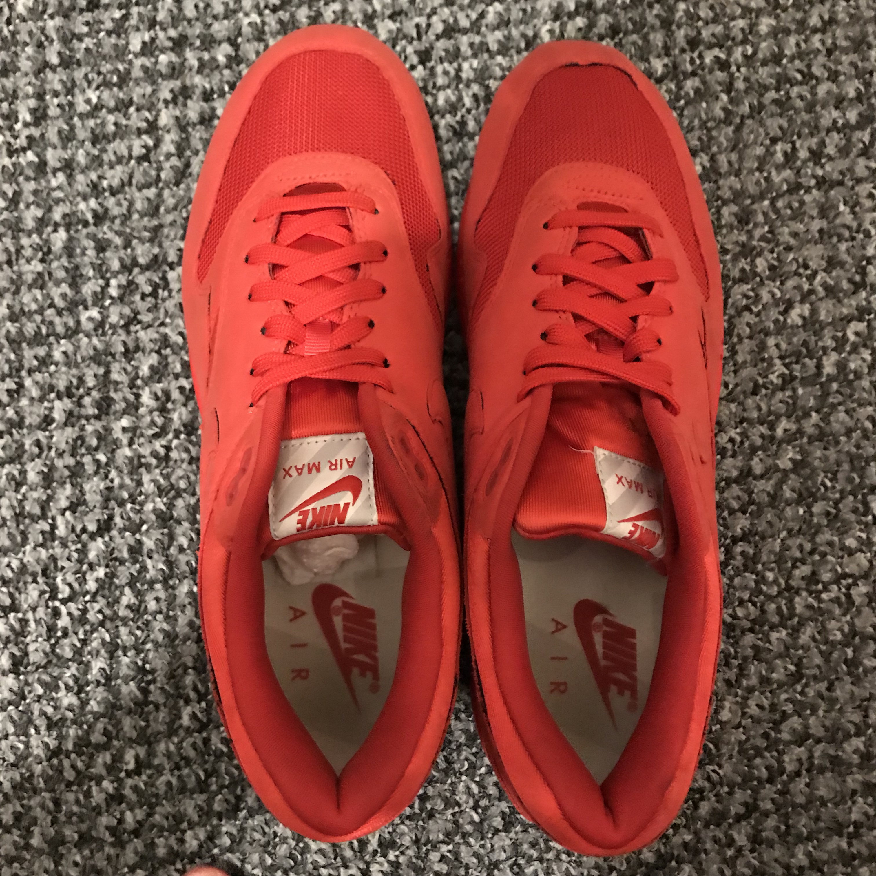 NIKE AIR MAX 1 TONAL RED LIMITED EDITION VERY RARE Depop